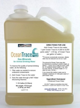 Animals, Ocean Trace, 1 gal.